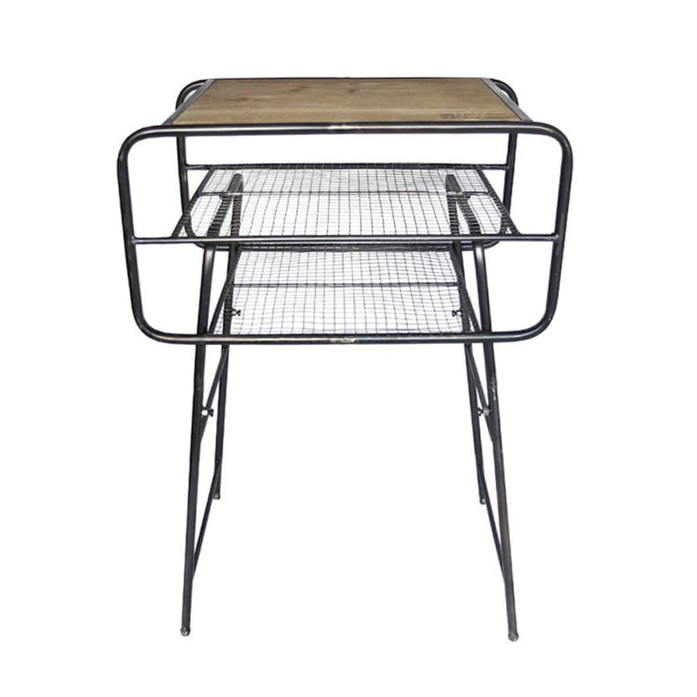 Iron Side Table CZ 'Olive'