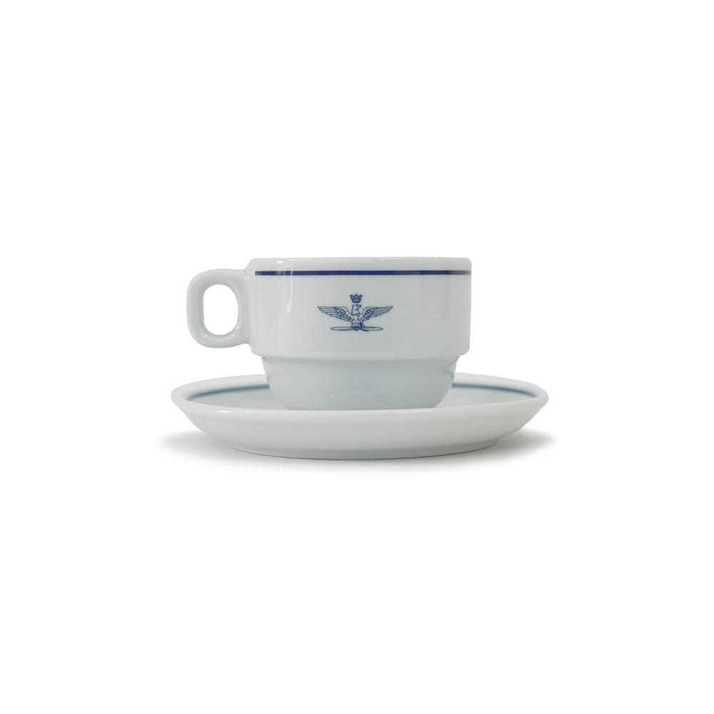 Italy A.M.I Cappuccino Cup & Saucer 'Dead Stock'