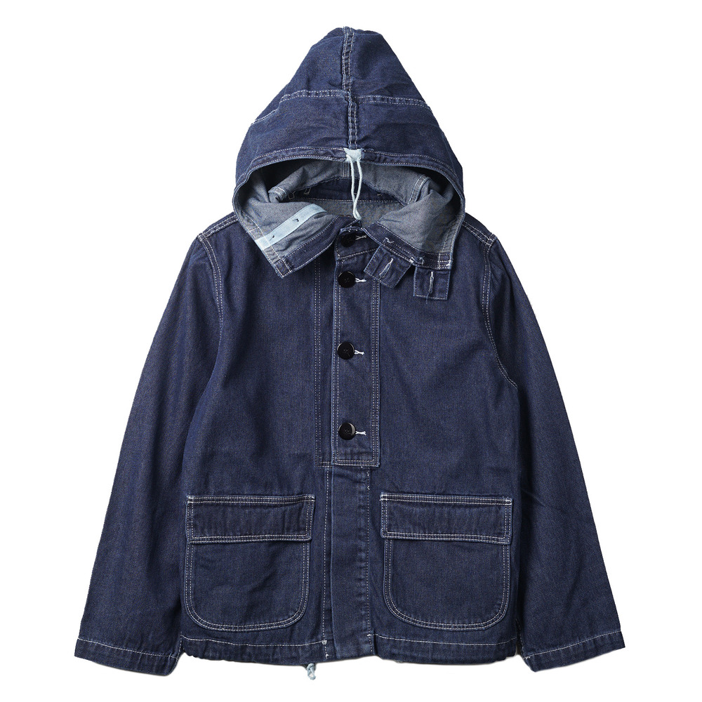 "US Type Navy Gun Crew Parka ""Denim"""
