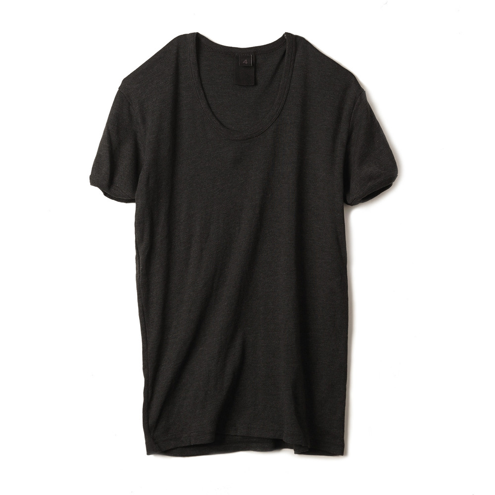 East Germany U-Neck T-Shirts 'Black'