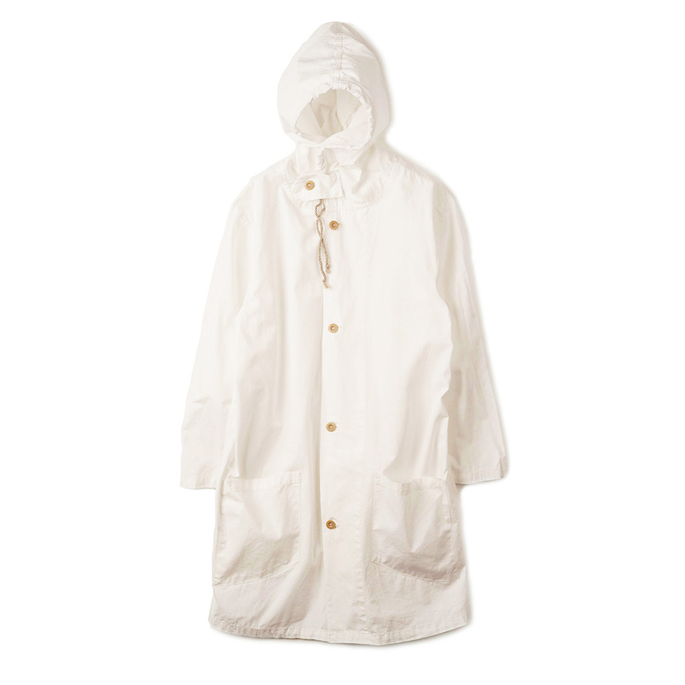 Sweden Type M40 Snow Camo Parka 'White'