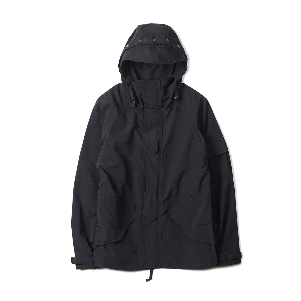 US Type ECWCS Soft Shell Parka Lightweight 'Black'