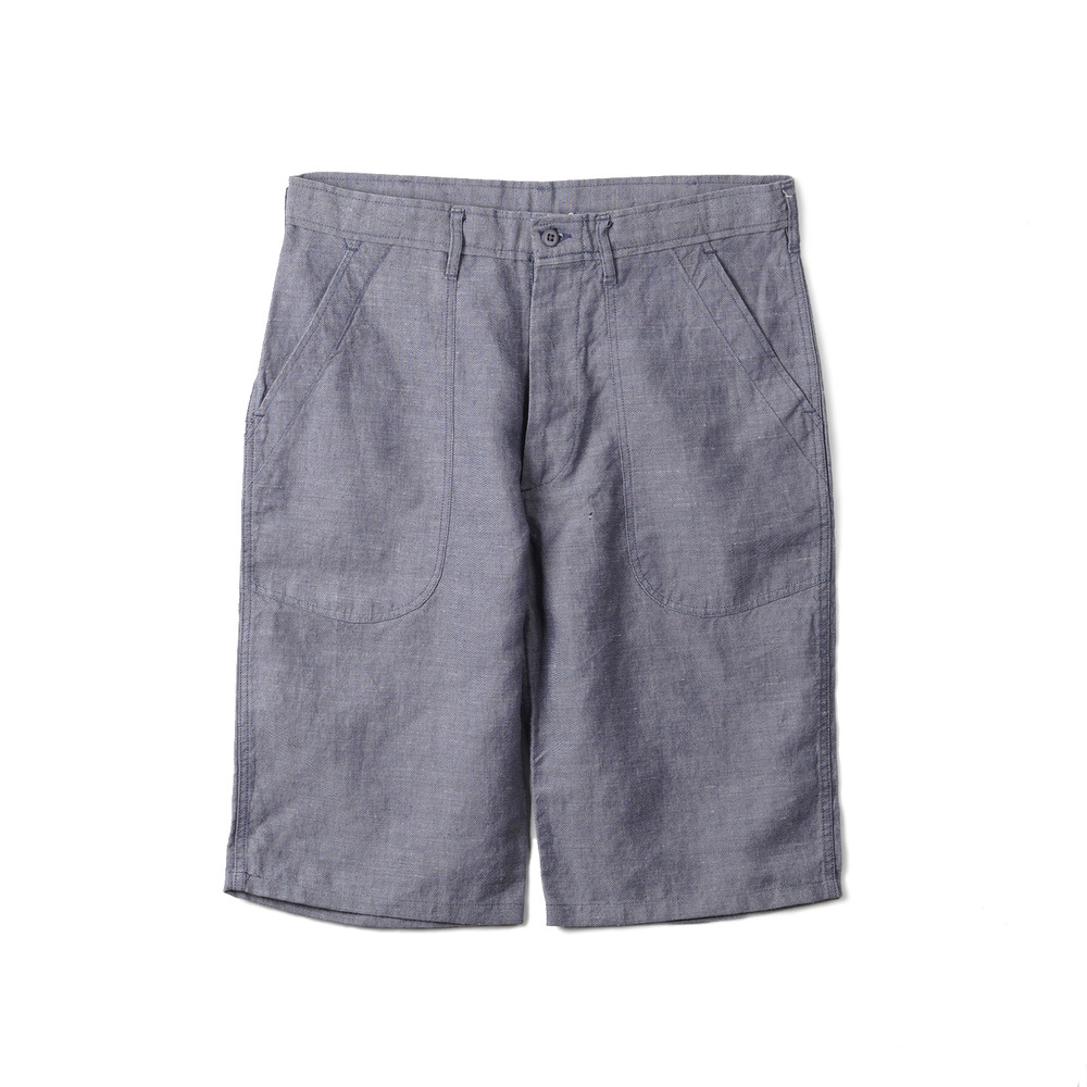 US Type NAVY Ramie Shorts 'Blue'