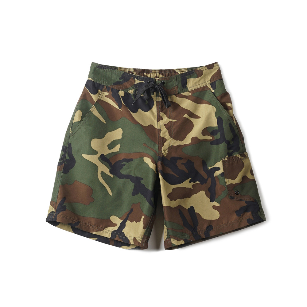 Camouflage Shorts & Swim Pants 'Wood Land'
