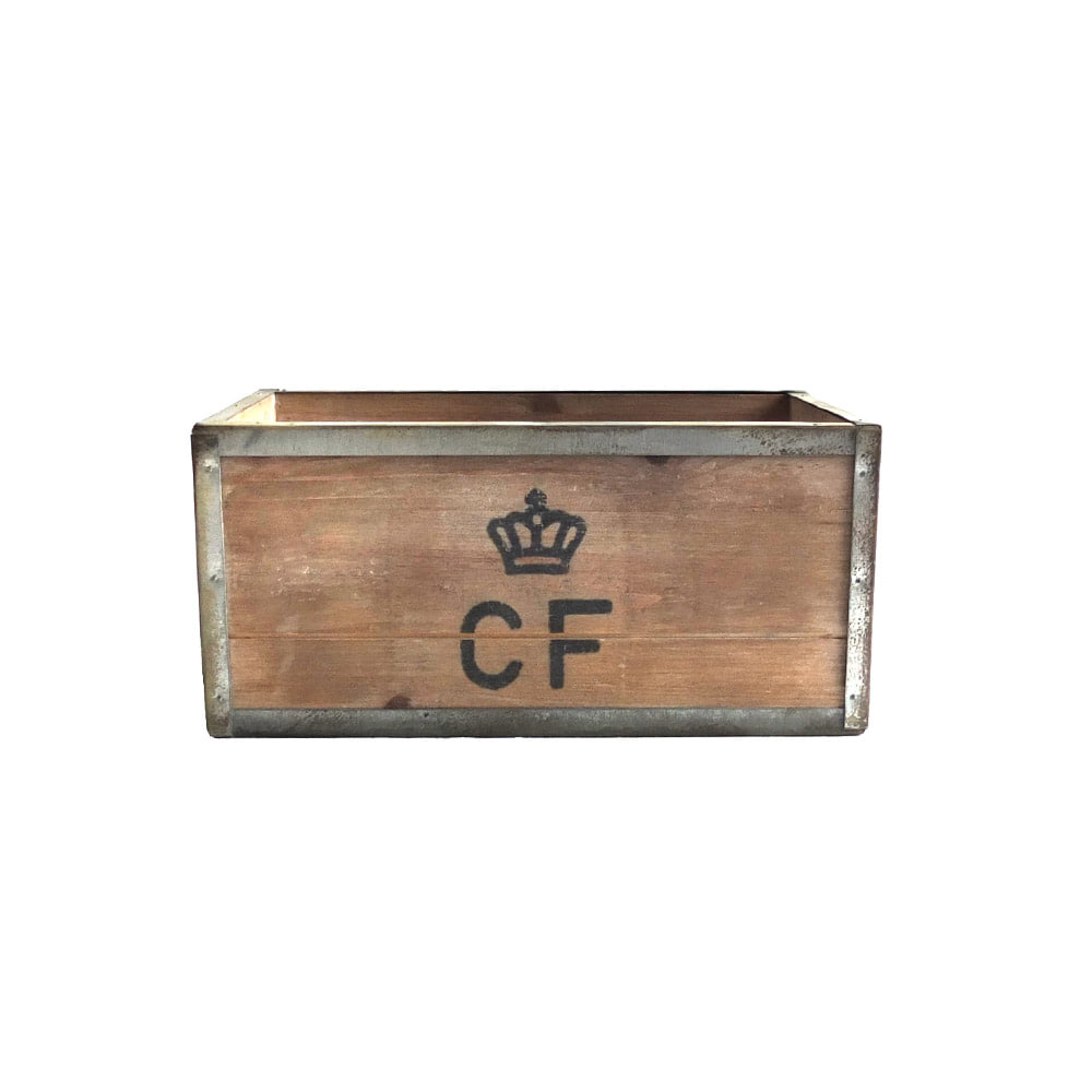 Storage Wood Box CF 'S' 'Natural'