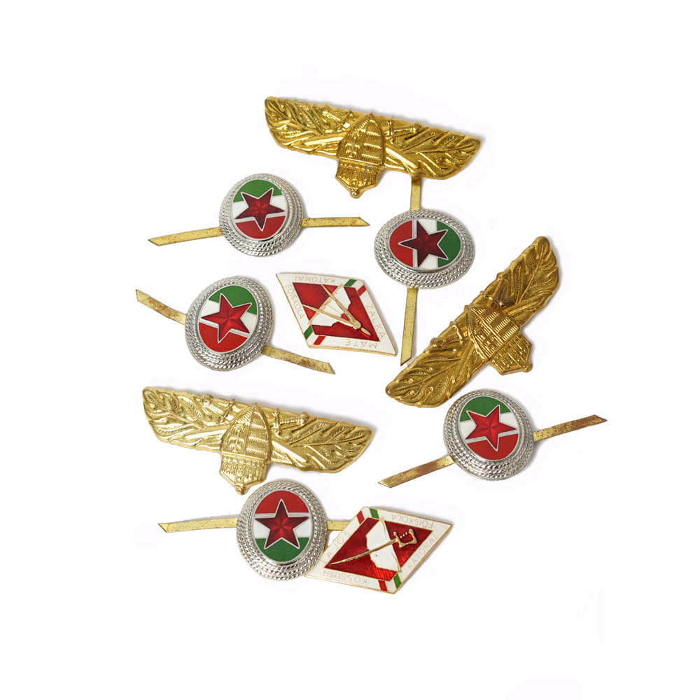 Hungary Pin Badge Set