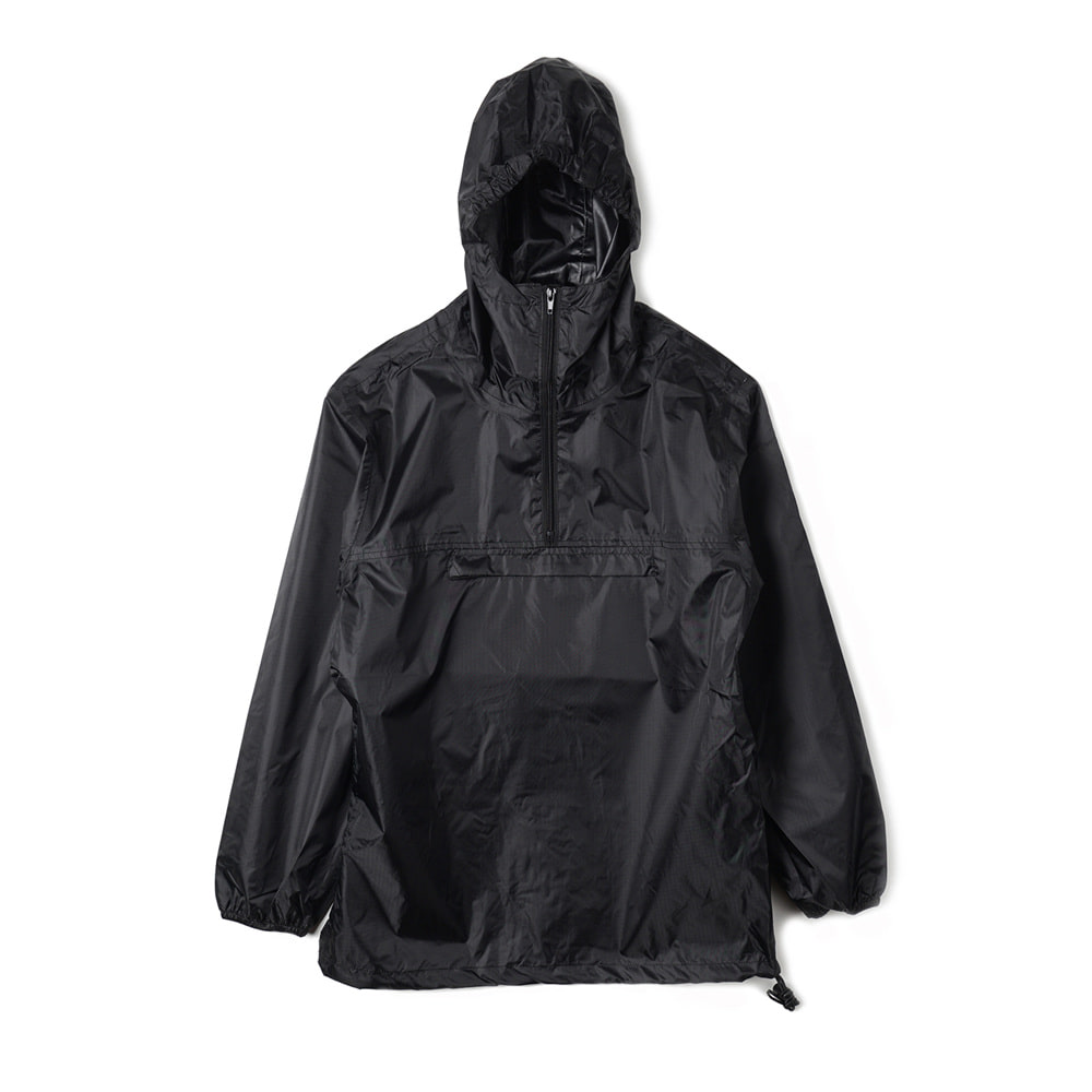 French Military Anorak Rain Parka 'Black'