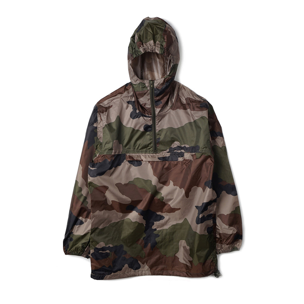French Military Anorak Rain Parka 'CCE Camo'