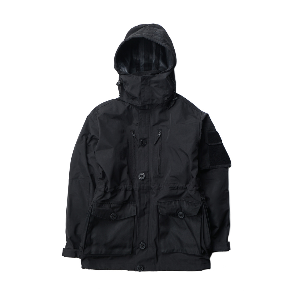 British Type Combat Smock Parka 'Black'