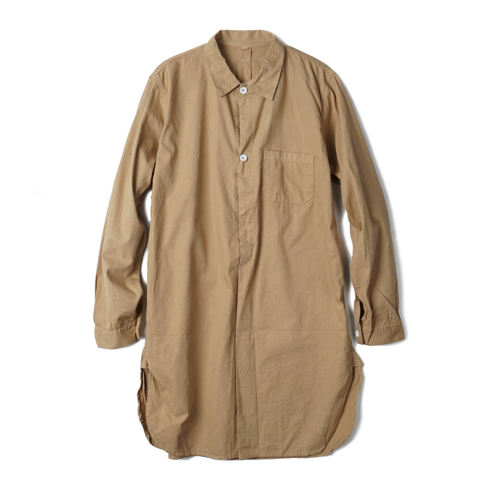 Sweden Type Grandpa Shirt 'Beige'