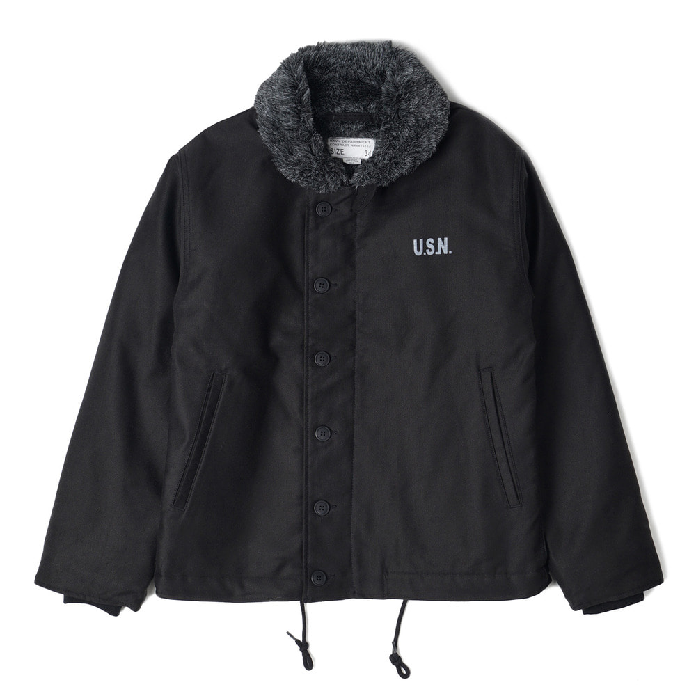 US Type N-1 Deck Jacket 'Black'