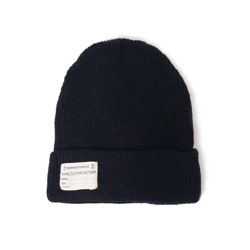 US Type NAVY Wool Watch Cap 'Black'