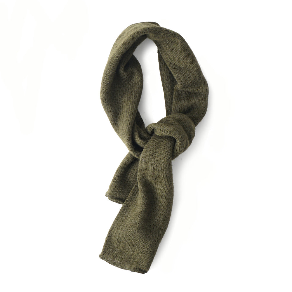 US Wool Scarf Olive 'Dead Stock'
