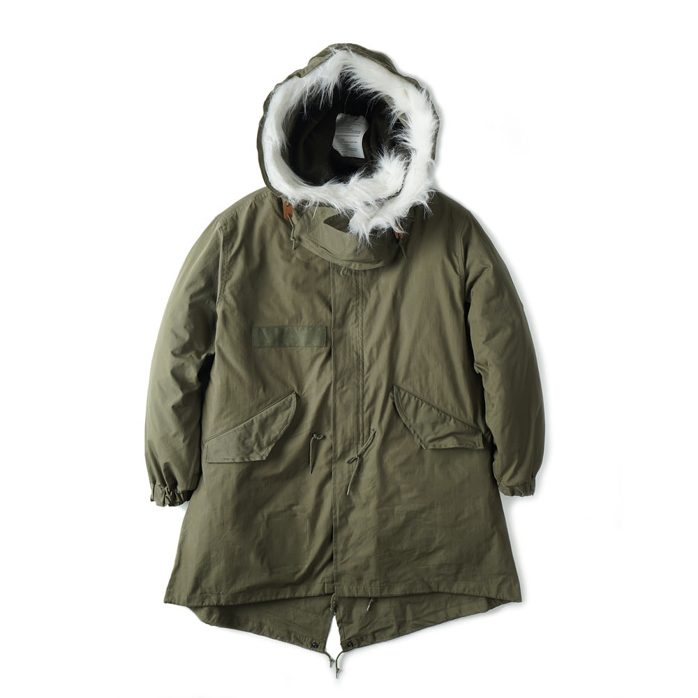 US Type M-65 Field Parka One Wash 'Olive'