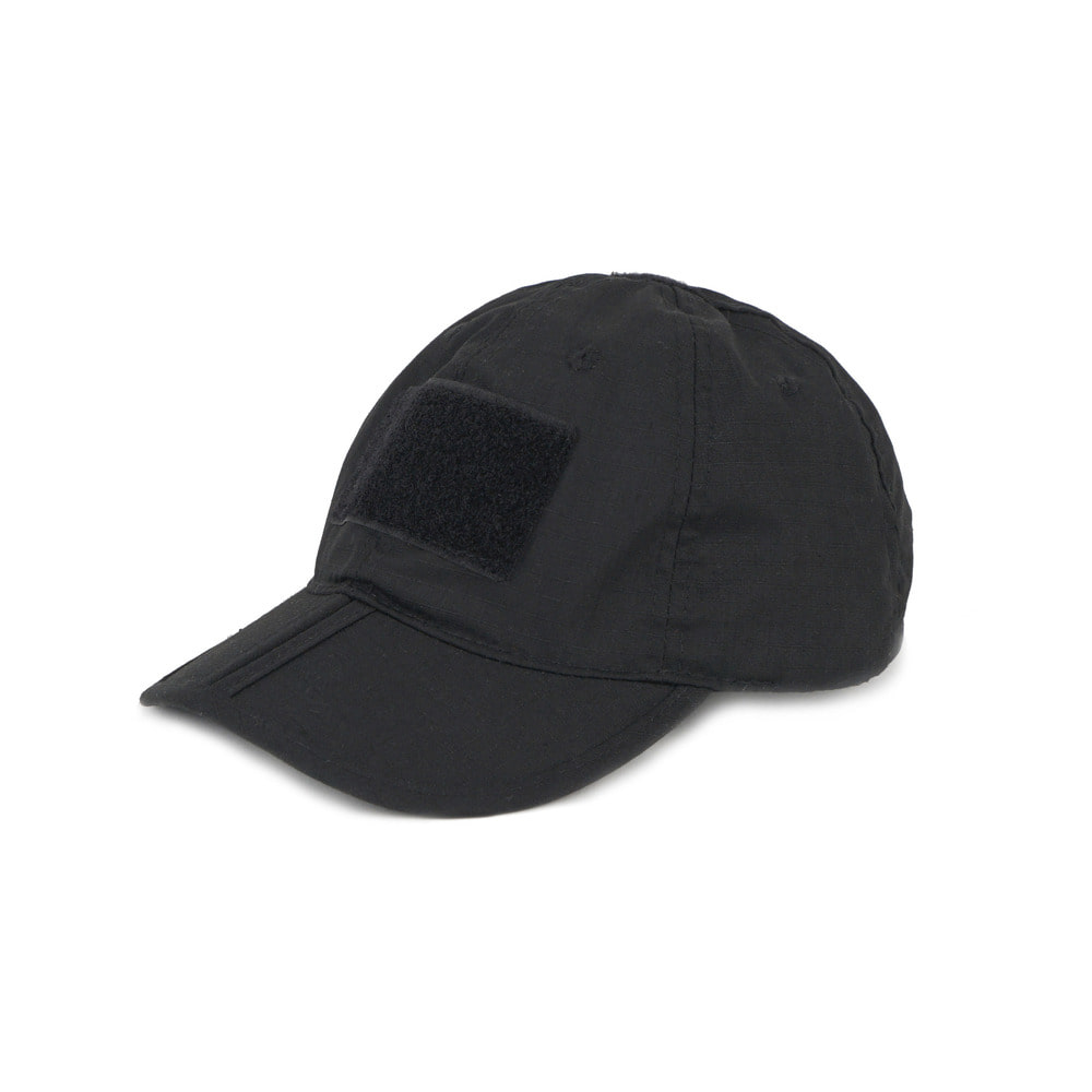 Tactical Folding Cap 'Black'