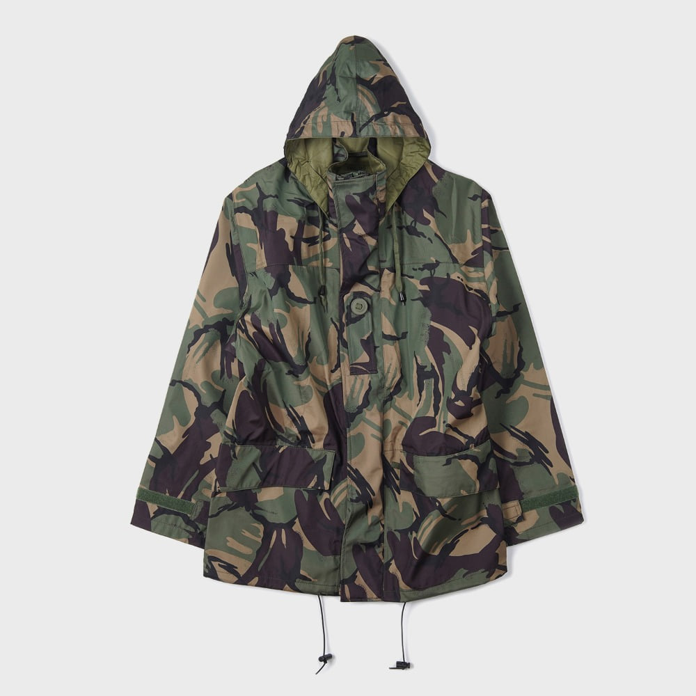 Deadstock British Militay Waterproof Parka DPM